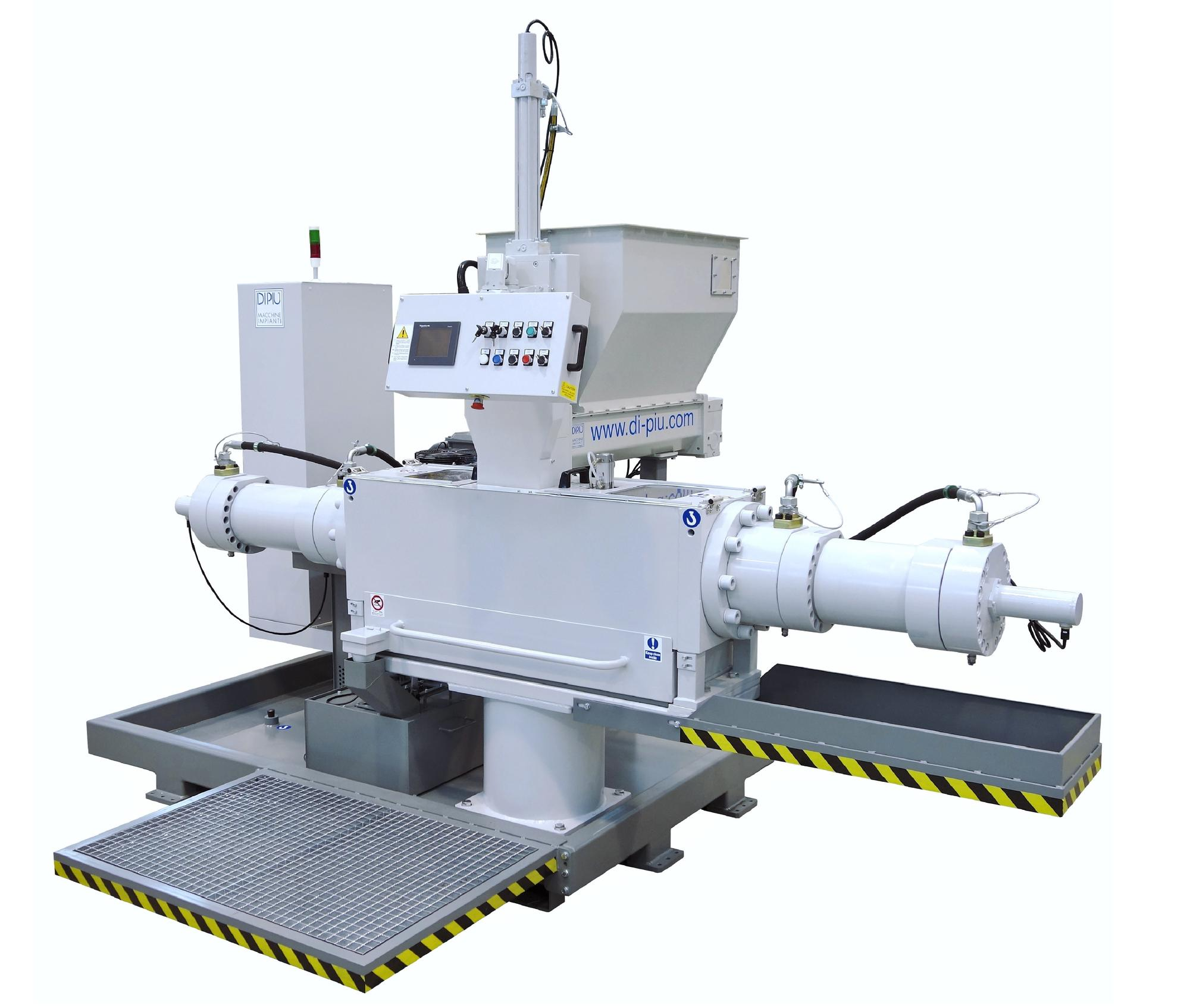 Metal sludge hydraulic briquetting presses